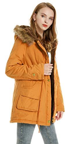 Marzo Top Abrigo Ofertas 2019 Comprar Mujer Amarillo XR8Bqxnf