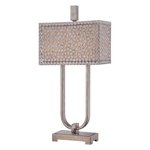 Confetti Desk Lamp - Old Silver Confetti Confetti