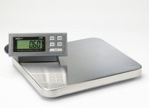 PROSHIP LARGE Digital 181Kg x 50g 400lb Heavy Duty Postal Postage Parcel Packet Shipping Platform Scales Scale