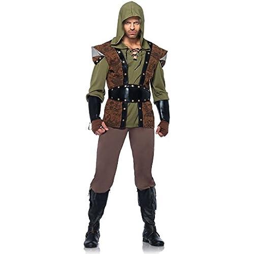 Leg Avenue 85268 - Robin Hood Costume Set, 5 pezzi, taglia XL, marrone