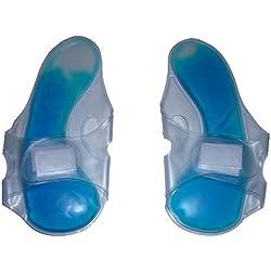 Par de cobertores calientes y fríos para los pies para el cuidado de los pies