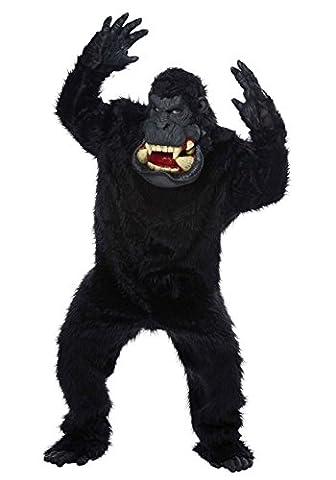 Goin' Bananas! Gorilla Adult Fancy dress costume Standard (Banana Gorilla-kostüm)
