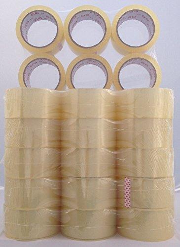 36 Rollen Packband transparent 50mm x 66 lfm
