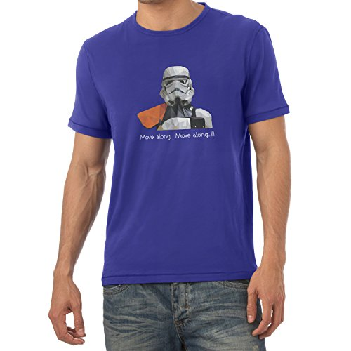 NERDO - Poly Trooper - Herren T-Shirt Marine