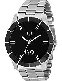 Fogg Analog Black Dial Men's Watch -2004-BK