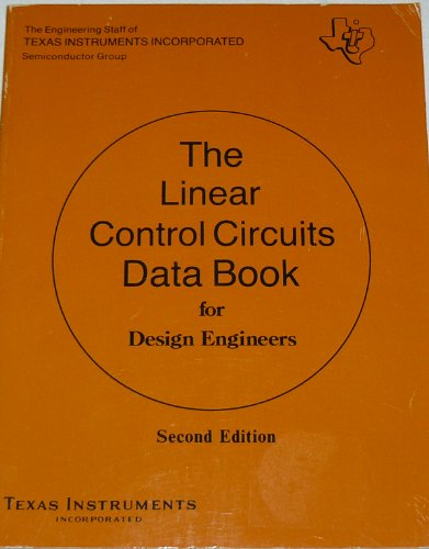 Linear Control Circuits Data Book for Design Engineers