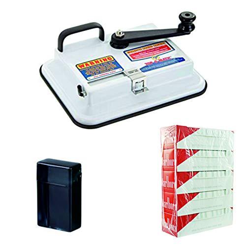 Kogu OCB Top O Matic Zigaretten Stopfmaschine, inklusive 5x200 Marlboro Red Hülsen und Zigarettenbox