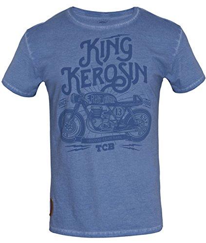 King Kerosin -  T-shirt - Uomo Blu