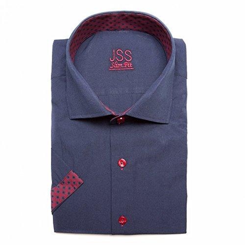 Jenson Samuel Shirts -  Camicia Casual  - Paisley - Uomo Navy Aztec