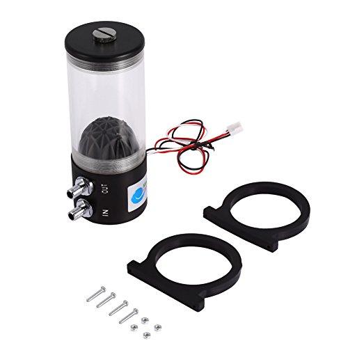 Yosoo 500L/h 10W DC12V pompa acqua Tank CO2scambiatore di calore di raffreddamento CPU Cooler