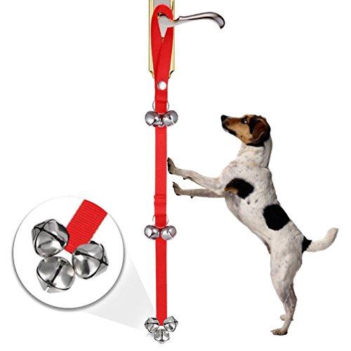 2 x Hund Töpfchen Training NuoYo Glocken Feine Tools für Welpen WC-Training,Housebreaking und Housetraining