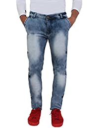 Aarzu Style Mens Blue Rock Style Jeans
