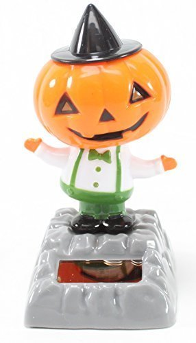A Dancing Pumpkin with Hat Solar Toy Halloween Nightmare Party Home Decor Gift US Seller by We pay your sales tax
