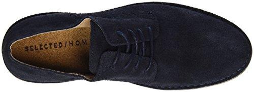 Seleccionado Shhroyce New Light Shoe, Polacchine Uomo Blu (dark Navy)