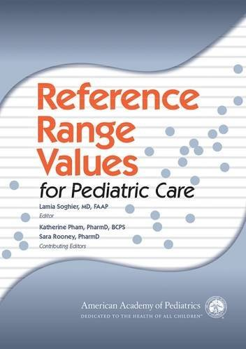 Reference Range Values for Pediatric Care (2014-05-30)