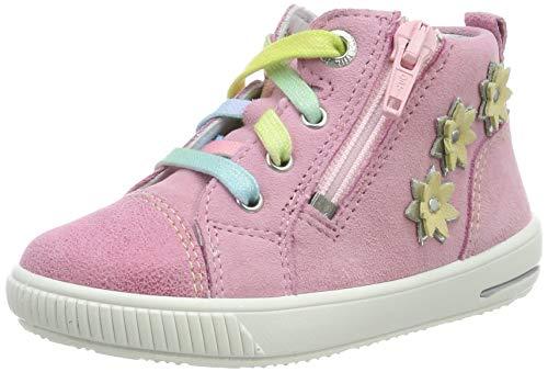 Superfit Baby Mädchen Moppy Sneaker, Pink (Rosa 55), 27 EU -