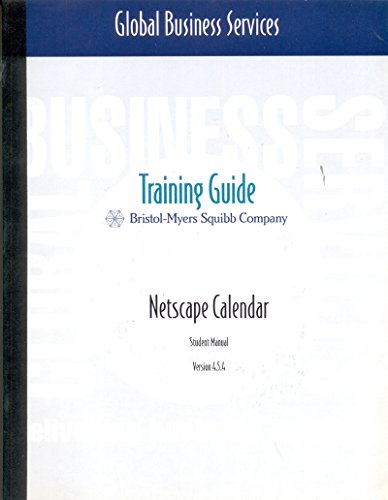 netscape-calendar-training-guide-in-englischer-sprache