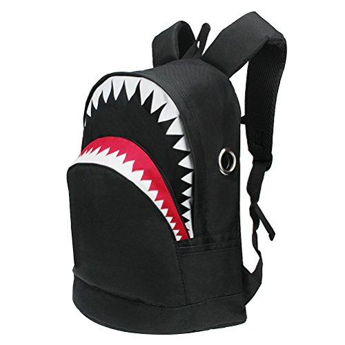Schultasche Rucksack YIMOJI Shark Book Tasche Reise Rucksack Daypack für Kinder Teenager Jungen Mädchen Geschenk