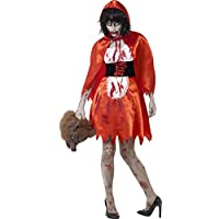 Smiffys - Costume Zombie Chaperon Rouge
