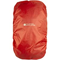 Mountain Warehouse Large Rucksack Rain Cover 55-100L, Shower Proof Backpack Protection, Packed in a Bag Rainproof Cover, Ripstop drawstring bag -For travelling, Walking