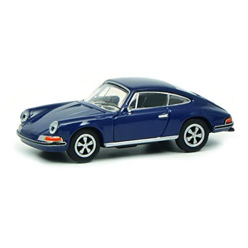Schuco 452629300 Porsche 911S Coupé F-Mod. 1:87 452629300-Porsche, blau