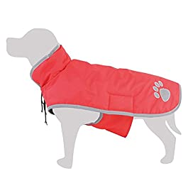 Arquivet Impermeabile Rosso per Cani