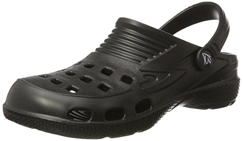 Beck Unisex Adult Clogs Black (nero)