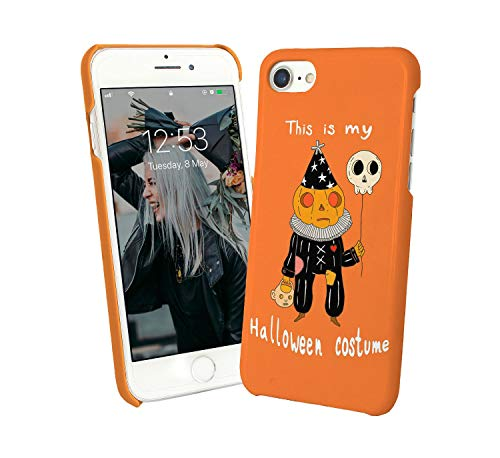 Costume Skull Pumpkin Pie Scary_002034 Case for Compatible with Huawei P30 PRO Handyhulle Hülle SchutzCover Bumper Shell Protective Protection ()