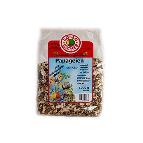 Rosenlöcher- Papageienfutter 1000g