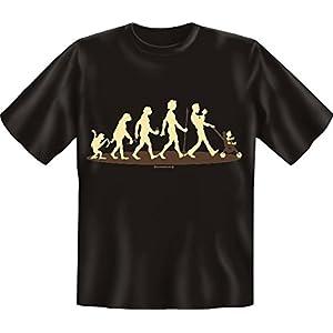 Fun T-Shirt - T-Shirt: Evo Papa Größe L