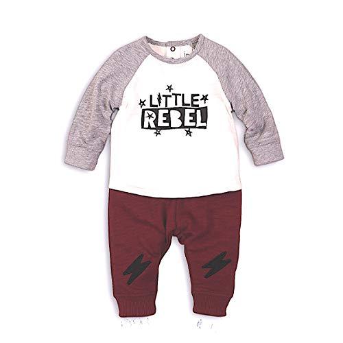 Little Rebel Zweiteiliges Set Jogginghose und Shirt (6 9 m)