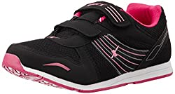 Sparx Womens Black and Pink Running Shoes - 4UK/37EU (SX0077L)