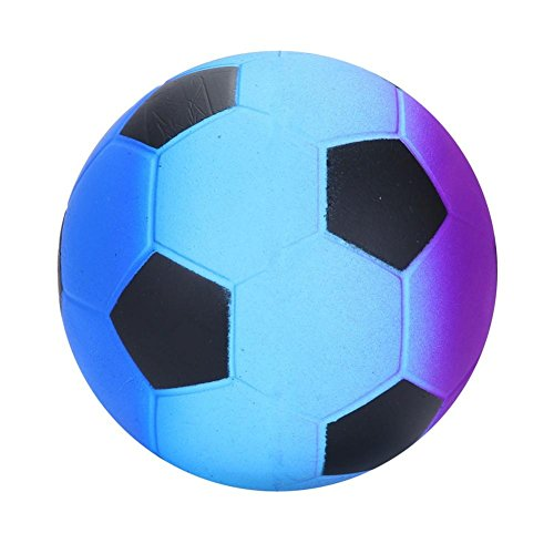 Gusspower Nuevo estilo!!Squishies Kawaii Juguetes de Arco iris de fútbol Squishy Squeeze Toy Slow Rising Decompression Juguetes compresivos Toys Stress Relief Suave Squeeze Toys (3.5x3.5x3.5 inch) (A)