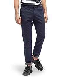 TOM TAILOR DENIM für Männer Pants / Trousers gemusterte Chino