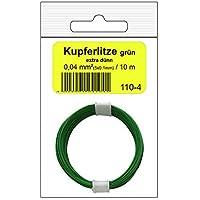 Unbekannt Donau Elektronik 110–4SB Single Flex Draht in Tasche, Grün, 10m