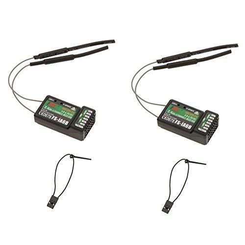 flysky empfaenger 2 Stueck 2.4G Flysky FS-iA6B 6Ch Empfaenger PPM Output mit iBus Hafen unterstuetzte Flysky i4 i6 i10 Transmitter