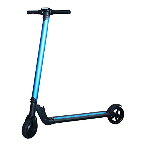 "SmartGyro Viper Urban Blue - Patín Scooter eléctrico 6,5"" (velocidad máxima 18 km/h, AUTONOMÍA hasta 20 km ,Batería de litio de 4.400 mAh 36V)"