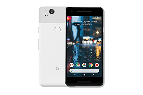 "Google Pixel 2 5"" Single SIM 4G 4GB 64GB 2700mAh Black, White - Smartphones (12.7 cm (5""), 64 GB, 12.2 MP, Android, 8, Black, White)"