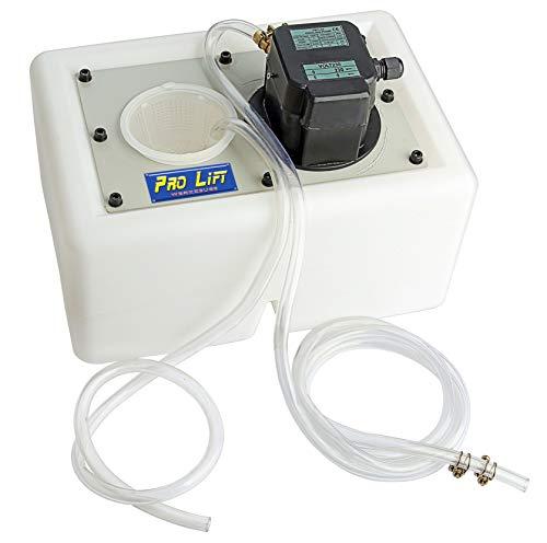 Pro-Lift-Werkzeuge Kühlmittelpumpe + 13l Behälter für Werkzeugmaschinen 230V Schmiermittelpumpe Kühlpumpe Drehmaschine Pumpe