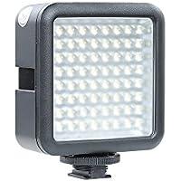 Godox LED 64 Continua en Cámara LED panel luz Videocámara Portátil Regulable para DSLR Canon Nikon etc.
