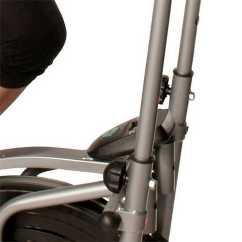 Confidence-Elliptical-Cross-Trainer-with-Computer-BlackSilver-Cadio-Exercise-Home-Gym-Workout