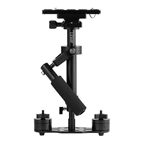Palmare-Stabilizzatori-fotocameraLESHP-40cm-Stabilizzatore-Portatile-Stabilizzatori-in-con-Piastra-a-Sgancio-Rapido-Viti-14-38-per-Fotocamere-DSLR-Videocamere-Canon-Nikon-SonyMassimo-2kg