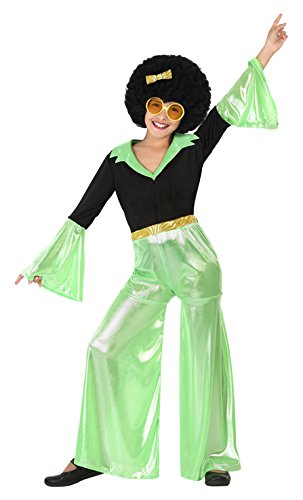 Atosa 28318 - Disco Tänzer, Mädchen grün, Größe 104, (Für Tänzer Kinder Kostüme)