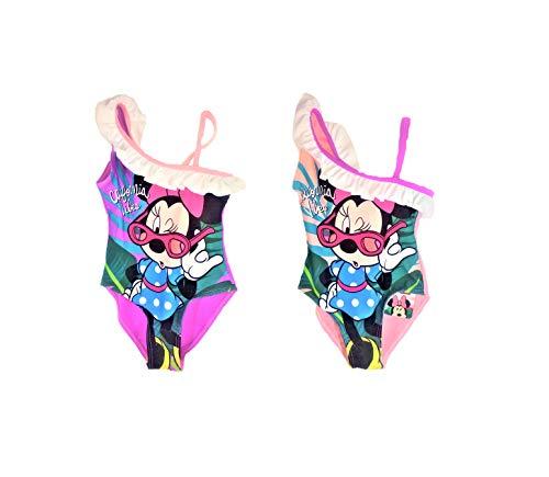 ARDITEX Bañador Minnie Mouse, con Volantes. 2 Colores: Rosa o Lila. Se envían al Azar, Salvo...