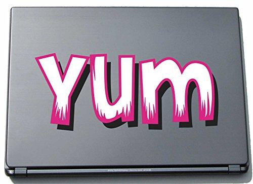 laptopaufkleber-laptopskin-comic-048-lustiges-motiv-yum-210-mm-aufkleber