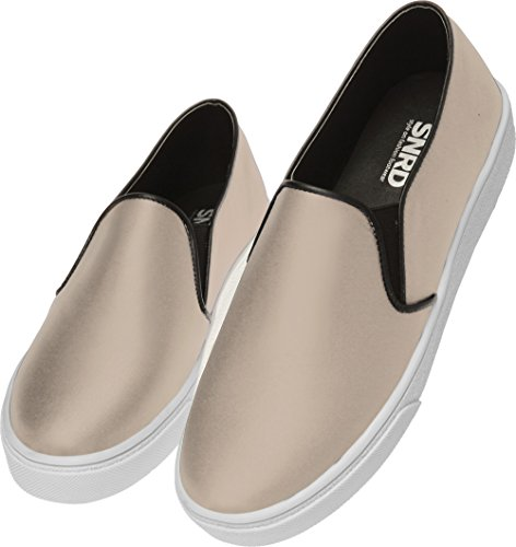 SNRD-Up 131–7 Casual mixte longue antidérapante Ons Baskets chaussures Beige - 131-Beige