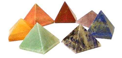 Chakren Steine, Verschiedene Varianten (Pyramide ca. 2x2cm)