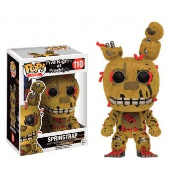 Five Nights At Freddy's Springtrap (Flocked) - Vinyl Figure 110 Collector's figure Standard
