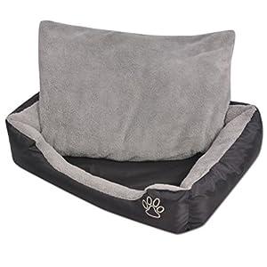 Dieses Hundebett bietet Ihrem Haustier einen warmen und gemütlichen Schlafplatz zum optimalen Einkuscheln. Es kann in Innenräumen, aber auch in Zwingern, Transportboxen und Hundehütten verwendet werden. Das Hundebett hat glatte und saubere Kanten, ei...