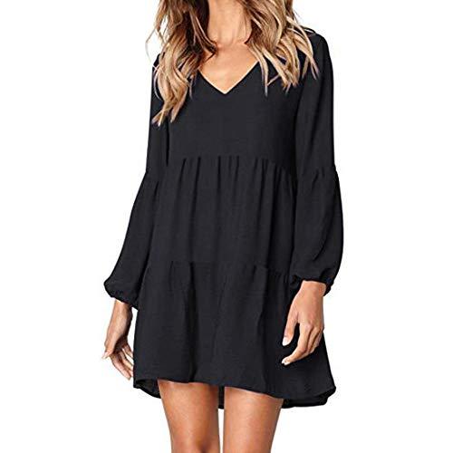 Tunika Kleid Boho Bohemian Kleid Vintage Kleid Lose Casual Swing Kleid mit Gerafft Schmeichelhaft - Asymmetrische Geraffte Kleid